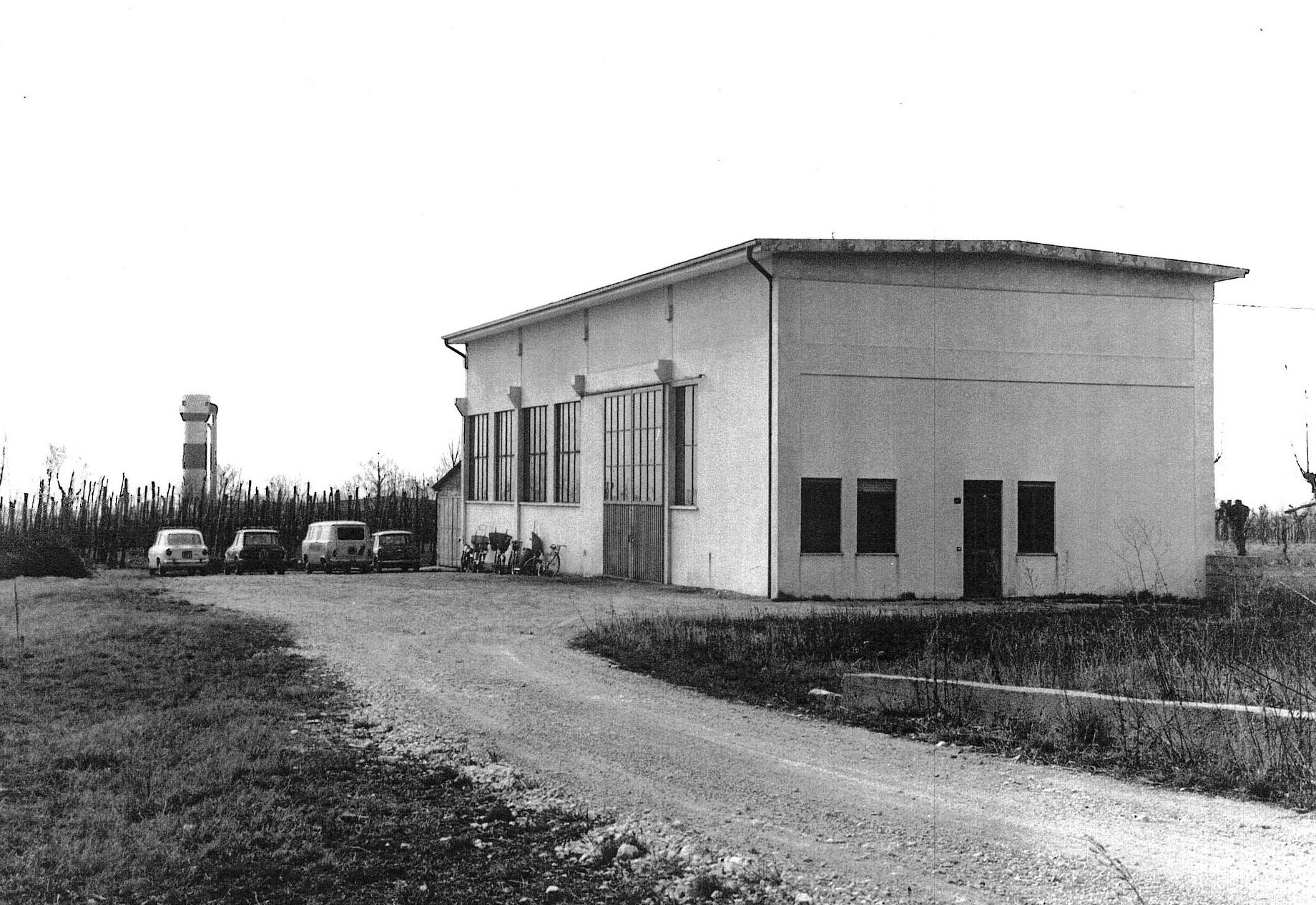Officine Dall'Alba S.r.l. - The first shed